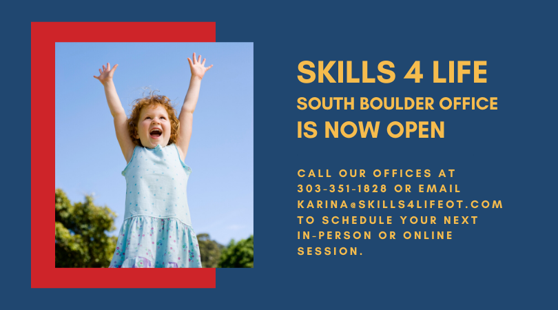 Skills 4 Life South Boulder Office Opens May 14